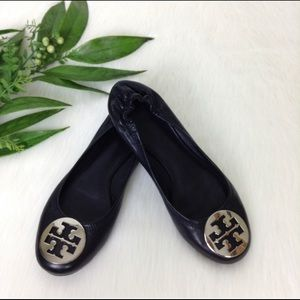 Tory Burch Reva Napa leather flats